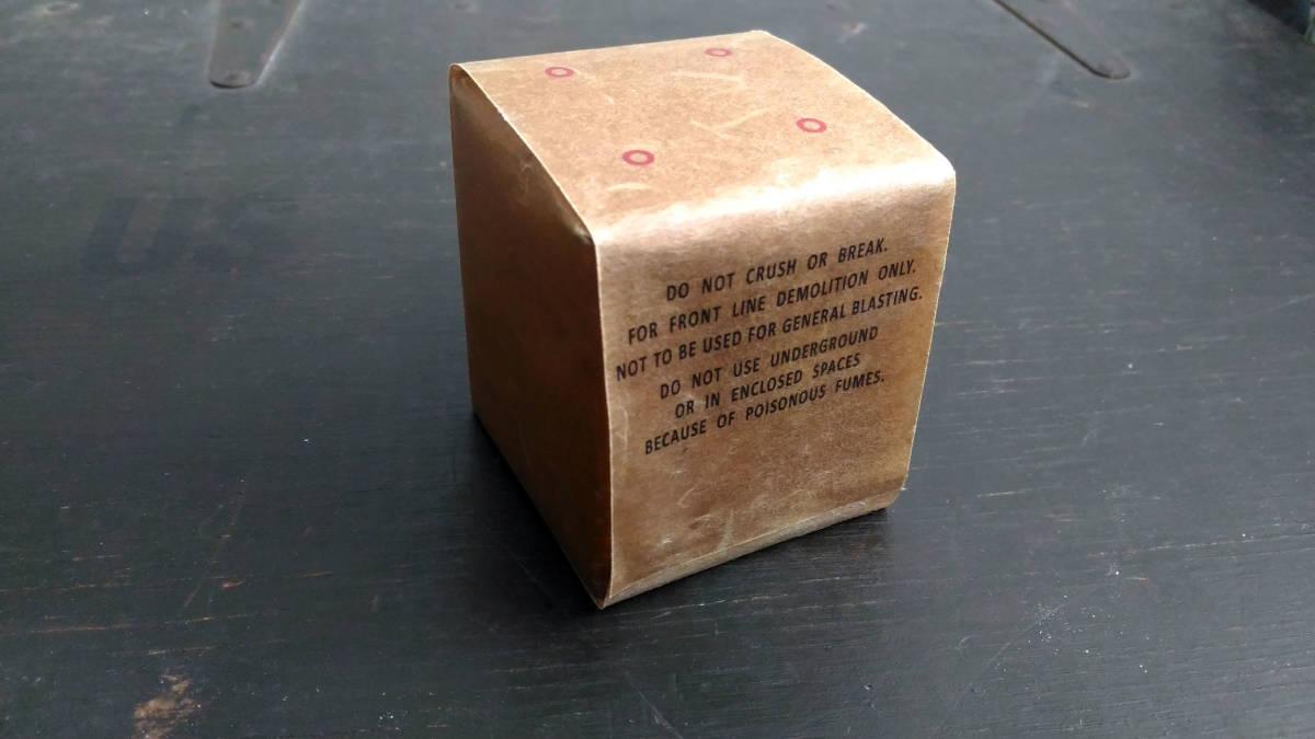 WW2 米軍 硝酸でんぷん爆薬 ニトロスターチ 1ポンド包装 レプリカ_画像2