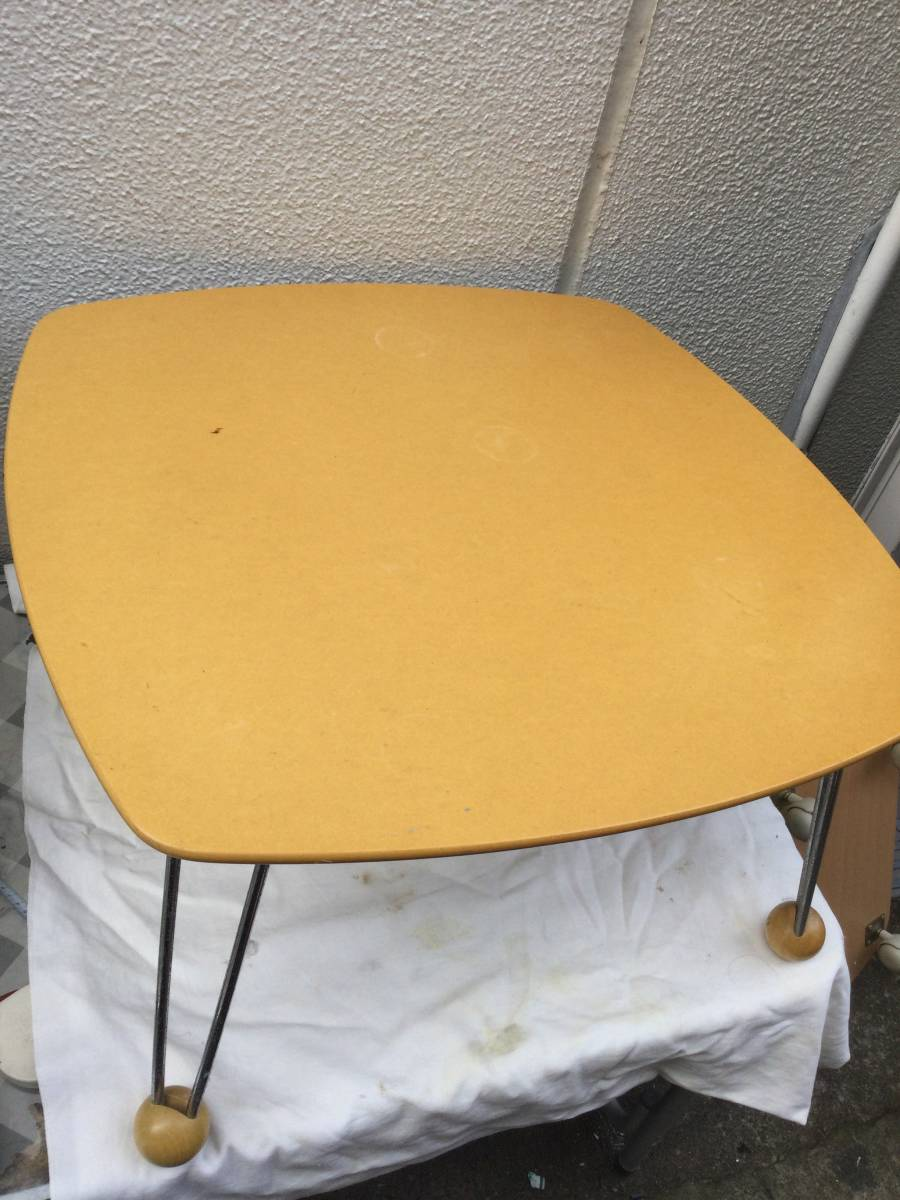 西友 折り畳み サイドテーブル_画像1