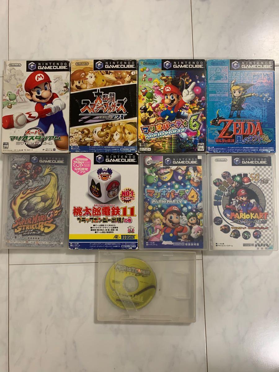 任天堂ゲームキューブ本体、ソフトのセット