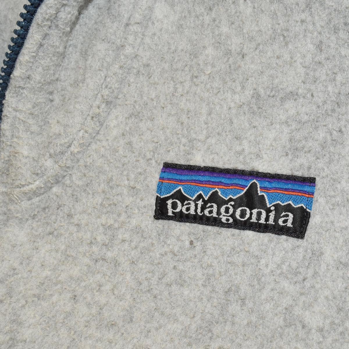 ビンテージ patagonia R無しデカタグ パタゴニア フルジップフリース 80年代 Sくらい