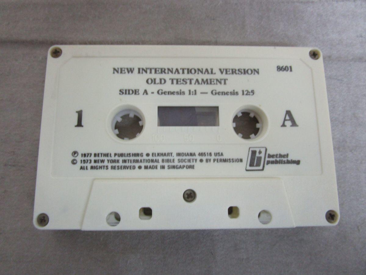 ▲01)【セール】Holy Bible/New International Version/カセットテープ48本中1本欠け/キリスト教/新約/旧約/聖書/宗教/信仰/神学_画像9