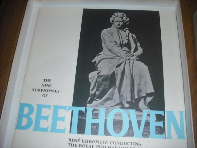 仏RCA ルネ・レイボヴィッツ指揮/ベートーヴェン交響曲全集 7LPbox-リーダーズ・ダイジェスト盤-_画像2