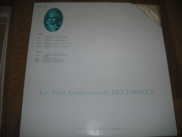 仏RCA ルネ・レイボヴィッツ指揮/ベートーヴェン交響曲全集 7LPbox-リーダーズ・ダイジェスト盤-_画像9