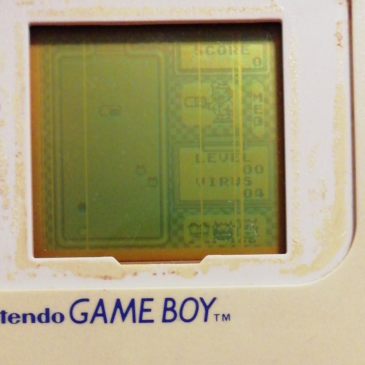 任天堂初代ゲームボーイ