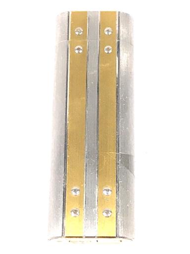 カルティエ ガスライター 喫煙具 サントス オーバル コンビ金具 約7×2.5cm 着火× Cartier_画像2