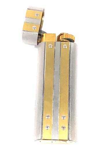 カルティエ ガスライター 喫煙具 サントス オーバル コンビ金具 約7×2.5cm 着火× Cartier_画像3