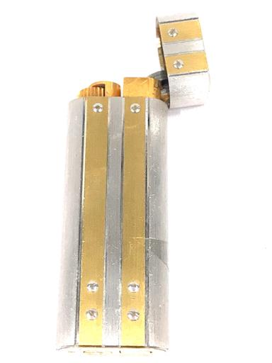 カルティエ ガスライター 喫煙具 サントス オーバル コンビ金具 約7×2.5cm 着火× Cartier_画像4