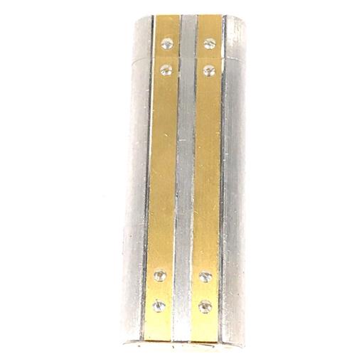 カルティエ ガスライター 喫煙具 サントス オーバル コンビ金具 約7×2.5cm 着火× Cartier_画像1