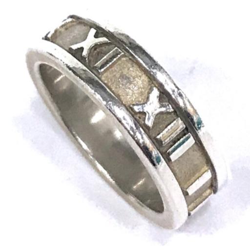 ティファニー アトラス 9号 指輪 リング シルバー金具 アクセサリー 保存袋 保存箱 付属 TIFFANY&Co_画像3