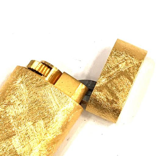 美品 カルティエ ガスライター オーバル型 総柄 ゴールド金具 約7×2.5cm 着火◯ 付属品有り Cartier_画像5