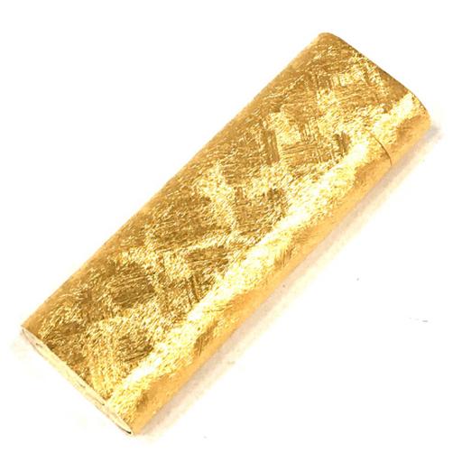 美品 カルティエ ガスライター オーバル型 総柄 ゴールド金具 約7×2.5cm 着火◯ 付属品有り Cartier_画像3