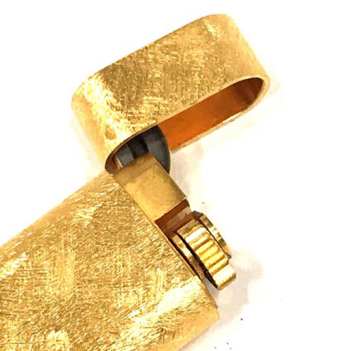 美品 カルティエ ガスライター オーバル型 総柄 ゴールド金具 約7×2.5cm 着火◯ 付属品有り Cartier_画像4