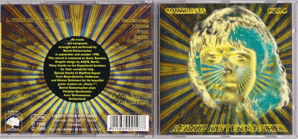 Bernd Kistenmacher - Contrasts Vol. I CD