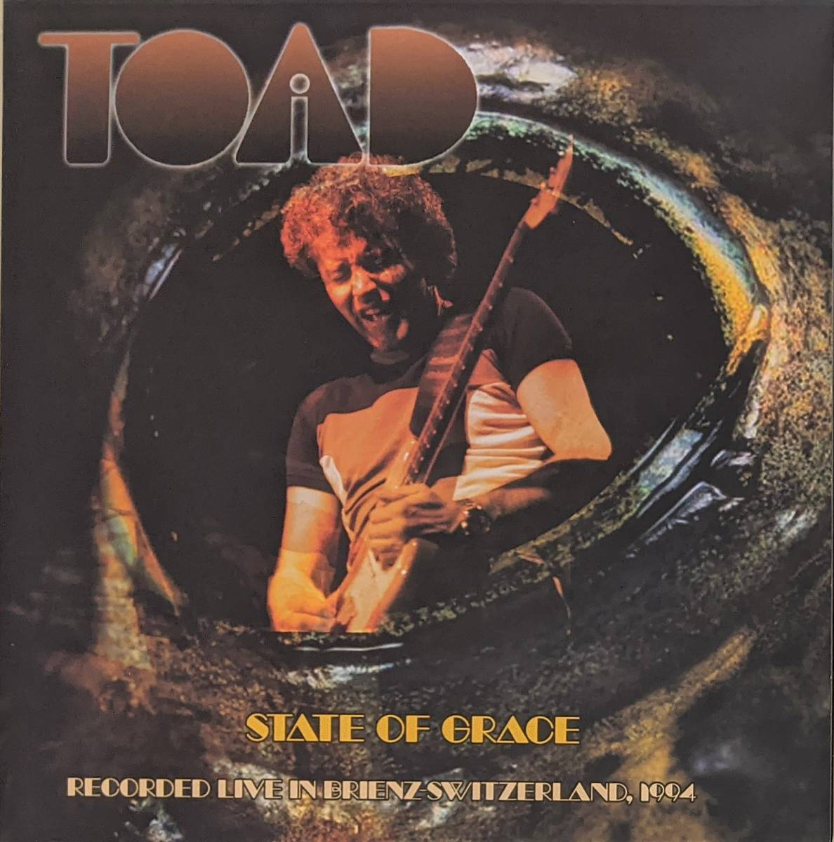 Toad - State Of Grace: Recorded Live In Brienz Switzerland 1994 限定二枚組アナログ・レコード