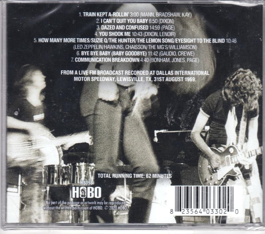 Led Zeppelin - Texas International Pop Festival CD