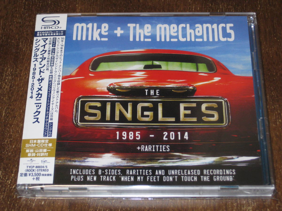 MIKE & THE MECHANICS マイク&ザ・メカニックス / シングルズ 1985-2013 2014年 2枚組 SHM-CD 国内帯有