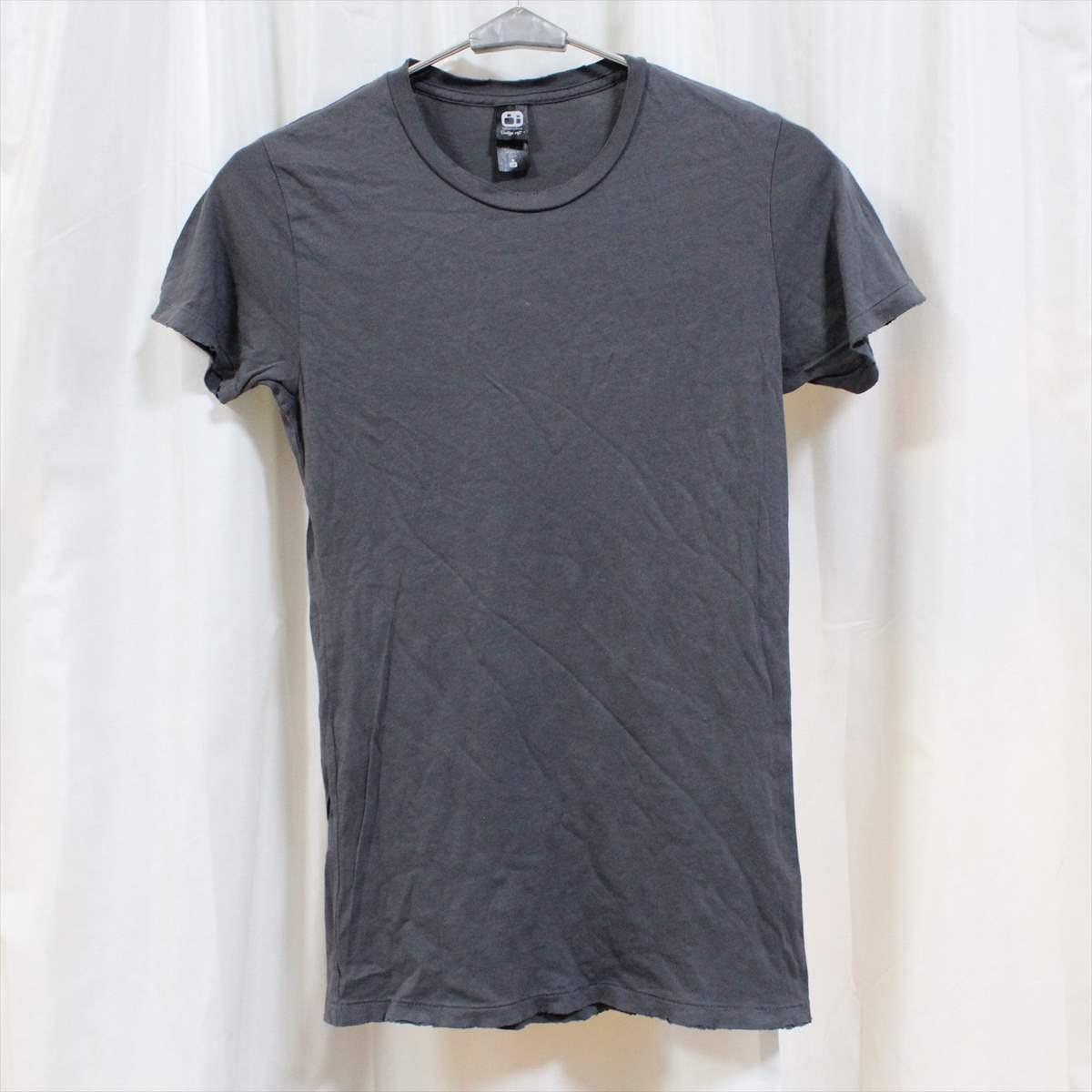 オルタナティブ アパレル alternative apparel レディース半袖Tシャツ チャコール Sサイズ 新品 vintage soft アメリカ製_画像1