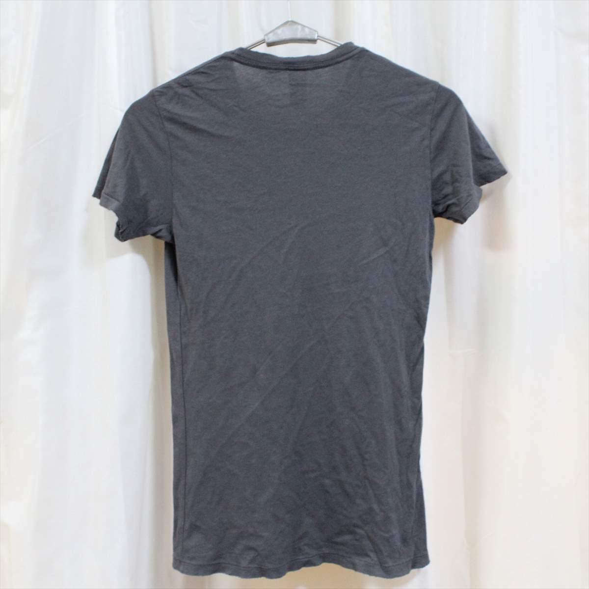 オルタナティブ アパレル alternative apparel レディース半袖Tシャツ チャコール Mサイズ 新品 vintage soft アメリカ製_画像3