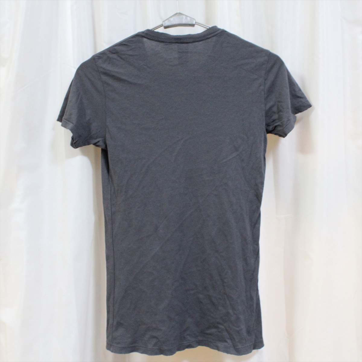 オルタナティブ アパレル alternative apparel レディース半袖Tシャツ チャコール Sサイズ 新品 vintage soft アメリカ製_画像3