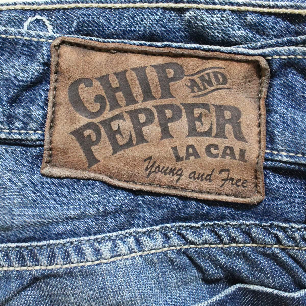 チップ&ペッパー Chip&Pepper メンズデニムパンツ ジーンズ 30インチ 新品 FIL アメリカ製_画像5