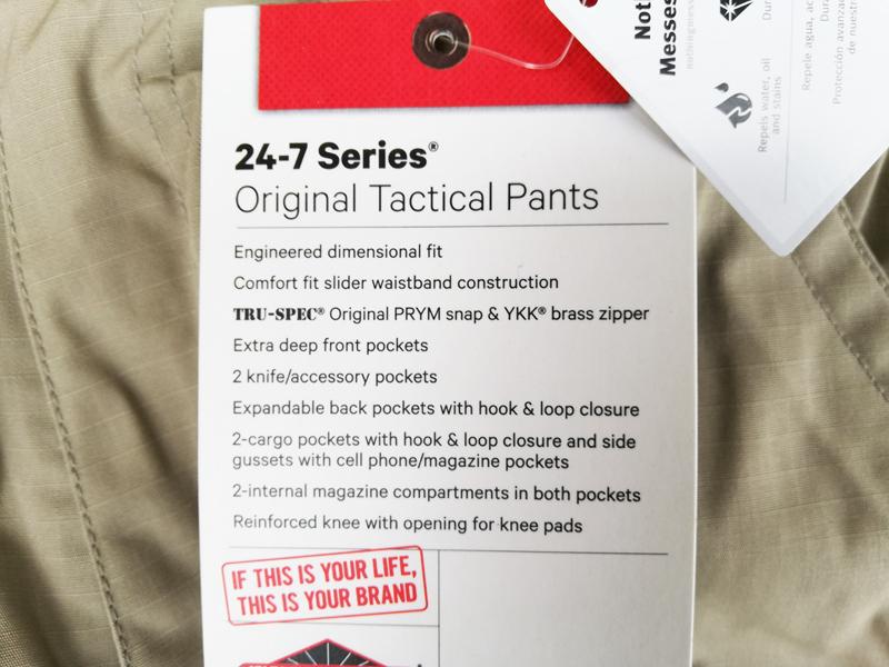 実物 米軍放出品 TRU-SPEC 24-7 Series オリジナル タクティカルパンツ 30x30 カーキ    (seals devgru marsoc 9k51_画像5