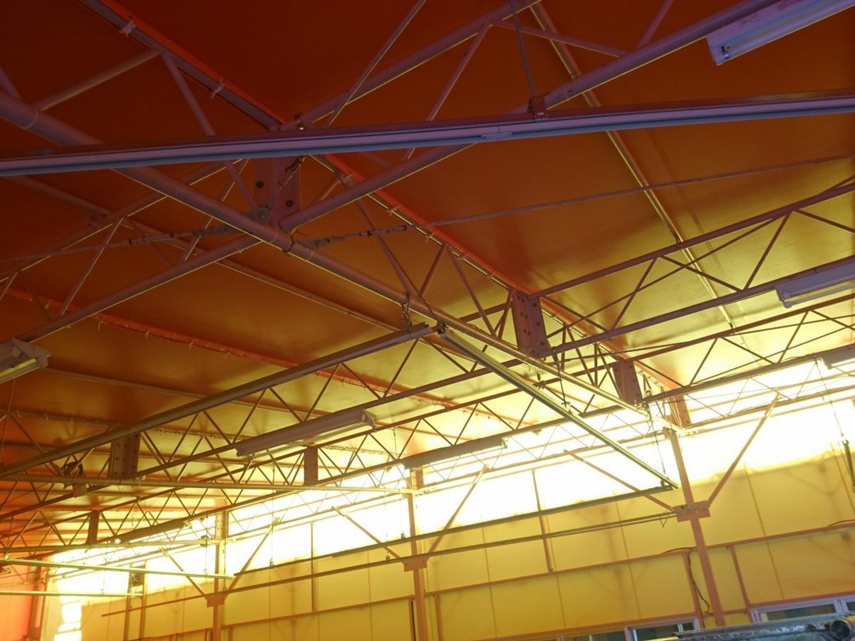 静岡県 中古 大型 テント倉庫 物置_画像5