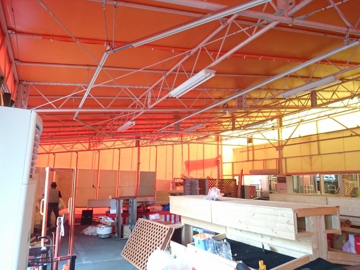 静岡県 中古 大型 テント倉庫 物置_画像4