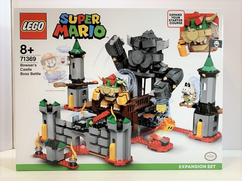新品未開封 レゴ LEGO スーパーマリオ けっせんクッパ城! チャレンジ #71369_画像1