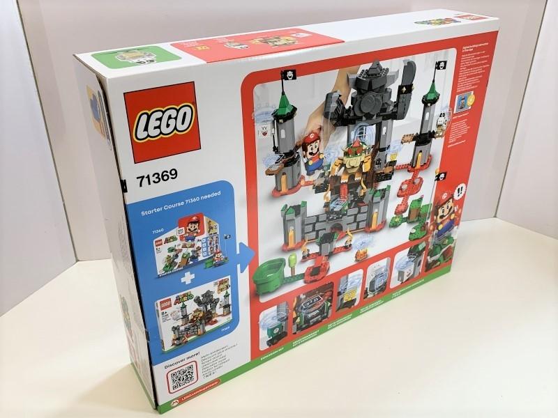 新品未開封 レゴ LEGO スーパーマリオ けっせんクッパ城! チャレンジ #71369_画像2