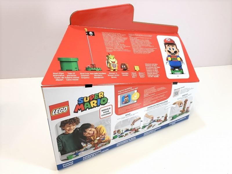 新品未開封 LEGO レゴ スーパーマリオ マリオとぼうけんのはじまり スターターセット #71360_画像2