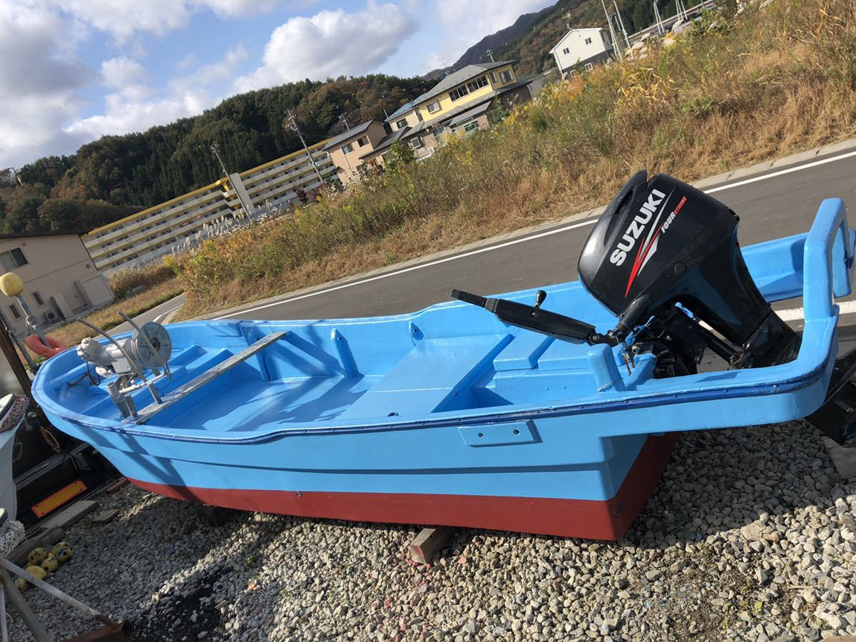 「和船はえ縄、刺し網岩崎ラインホーラ付き、スズキ4st60馬力」の画像1