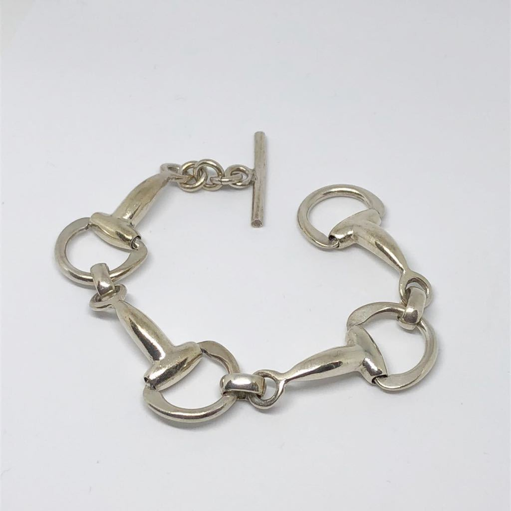 vintage mexican jewelry ホースビット シルバー925 チェーントグル メキシカンジュエリー HERMES GUCCI