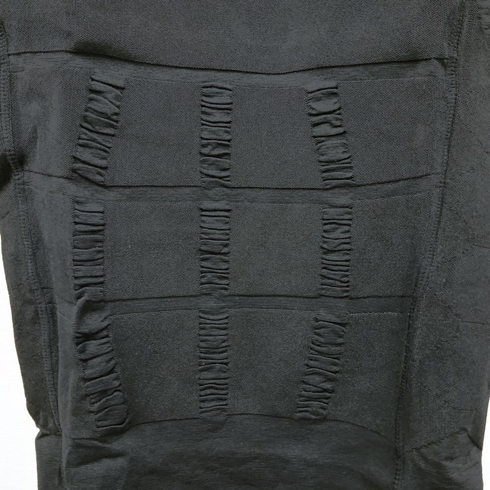 【開封済新品】メンズ/加圧シャツ/L/ブラック/Msp033_BD011