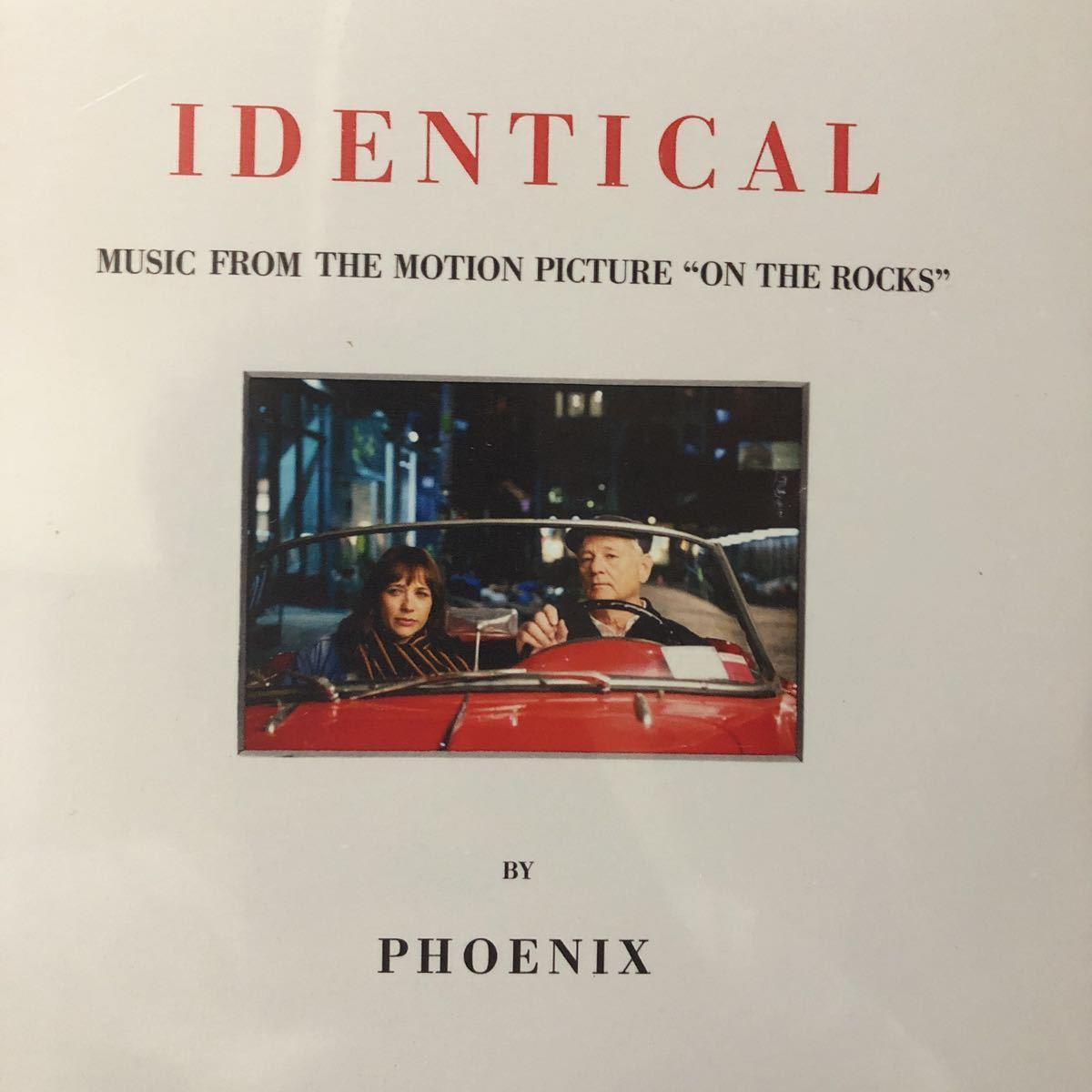【新品 未聴品】Phoenix / identical 7inch EP ソフィアコッポラ on the rocks two door cinema club kitsune 入手難 希少_画像1