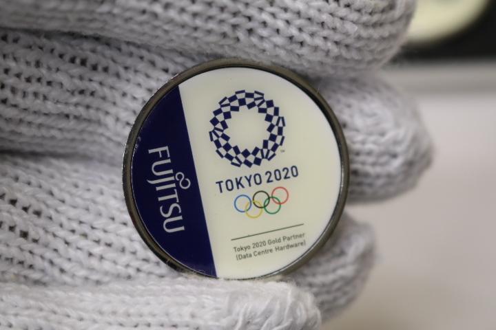 非売品 東京2020オリンピックパラリンピック 富士通 FUJITSU 社員用_画像7