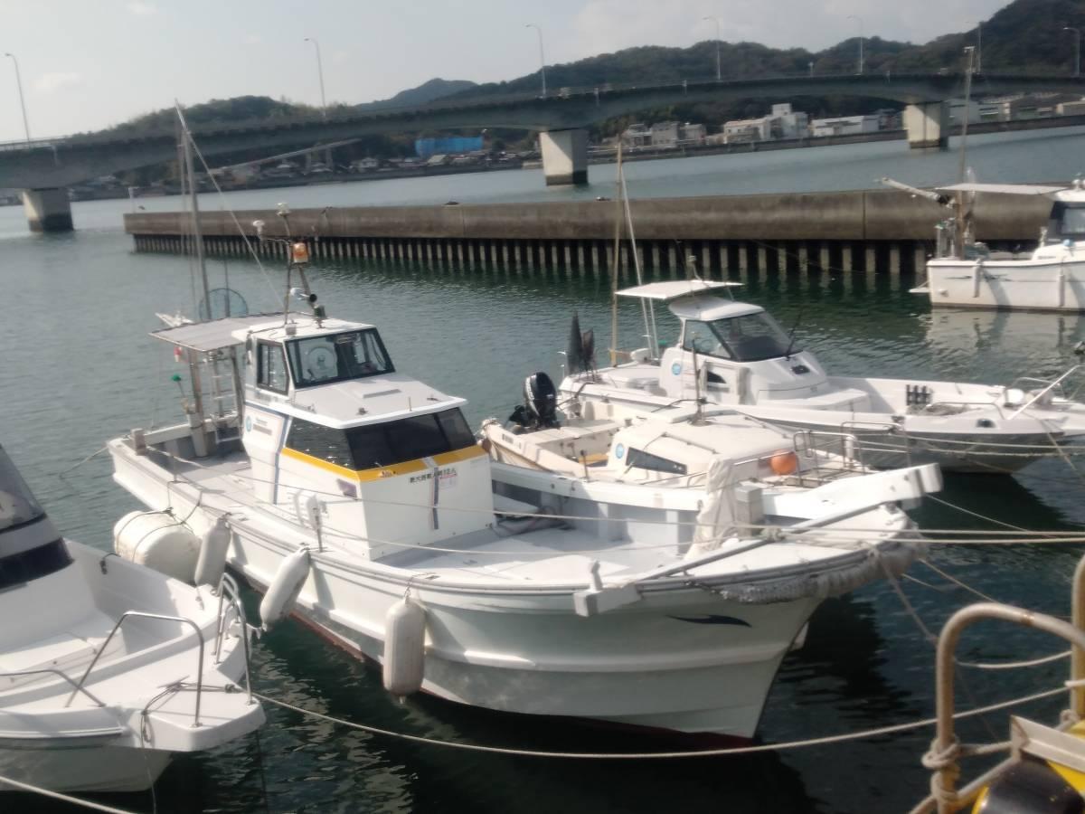 「【状態抜群・格安】 ヤンマー「あらしお」 DE-36F ◆ 12 人乗り漁船! ◆ 検査2年半以上付・オプション満載! ◆ 山口県・平生町より」の画像1