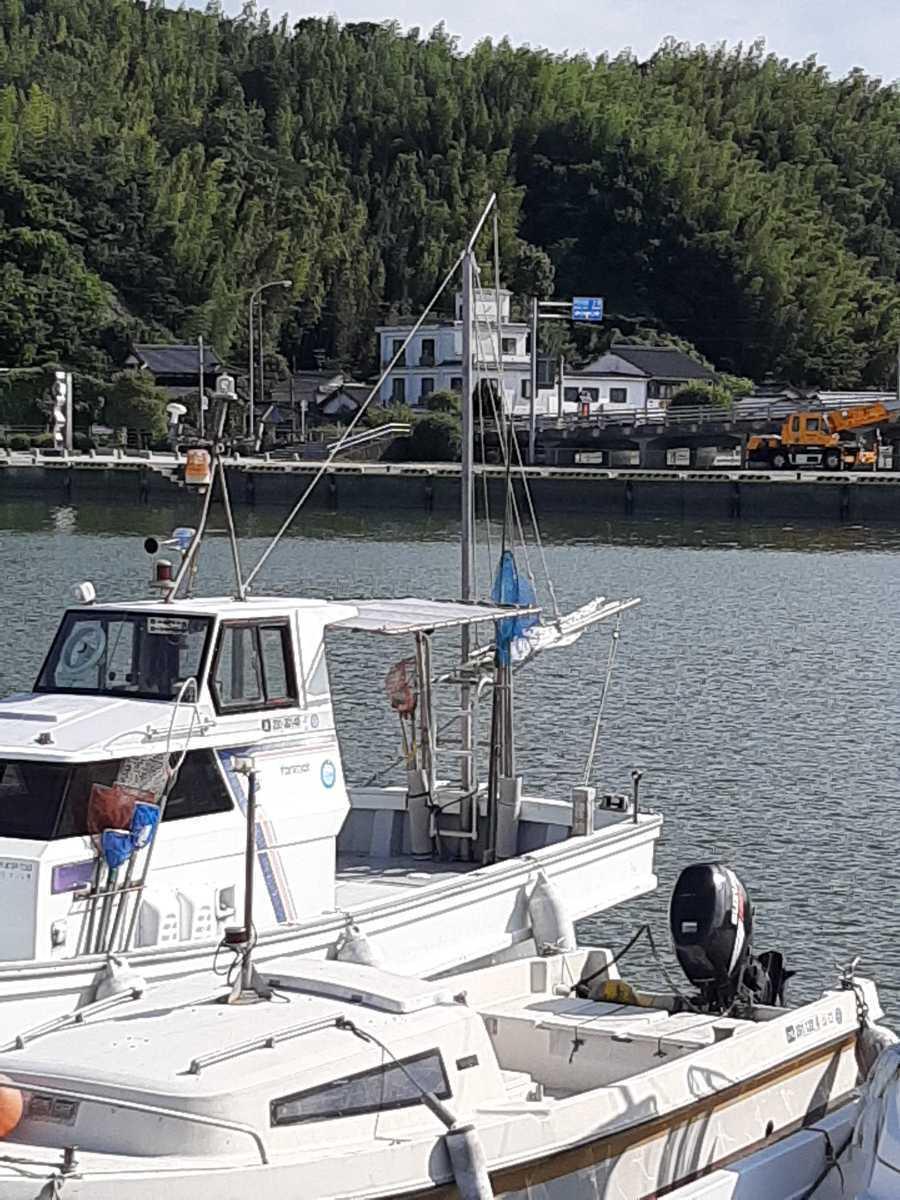 「【状態抜群・格安】 ヤンマー「あらしお」 DE-36F ◆ 12 人乗り漁船! ◆ 検査2年半以上付・オプション満載! ◆ 山口県・平生町より」の画像2