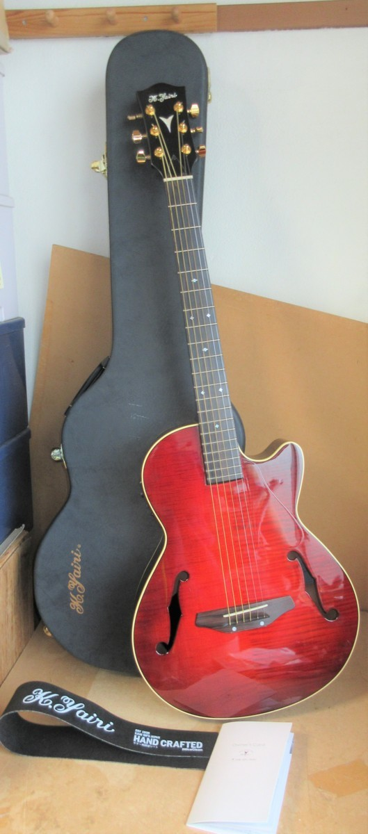 ☆ケーヤイリ K.Yairi KYF-2 エレクトリック・アコースティックギター エレアコ◆ハードケース付き89,991円