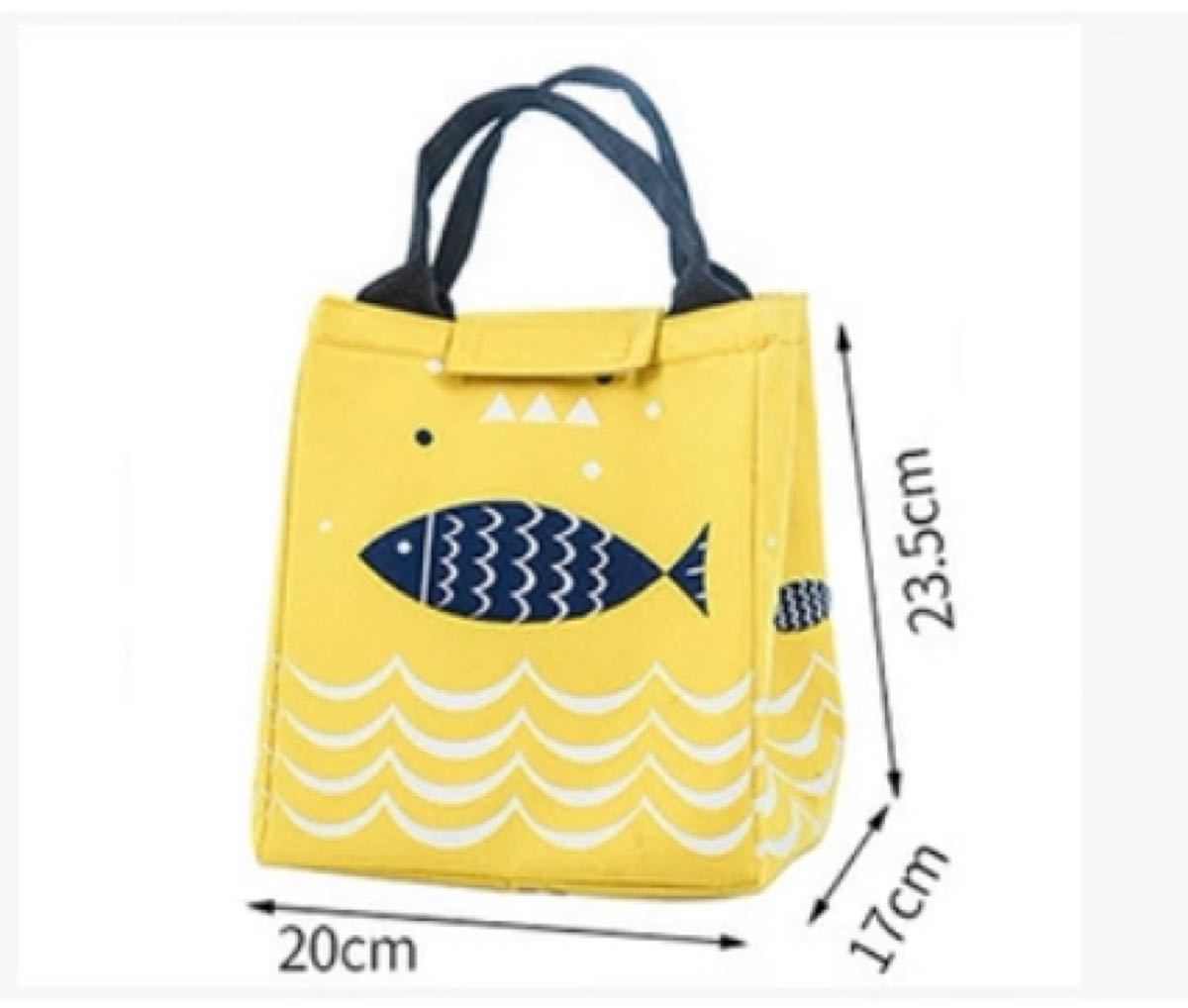保温保冷ランチバッグ、トートバッグ、防水、厚くて大容量エコバッグ