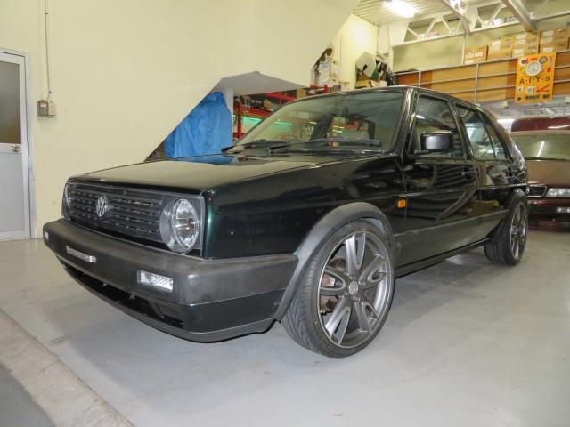 「【格安】1991年 フォルクスワーゲン(VW)ゴルフ2/GOLFⅡ/1800cc/新品18インチホイール(MK)/新品タイヤ(215/35R18)/144,971km」の画像1