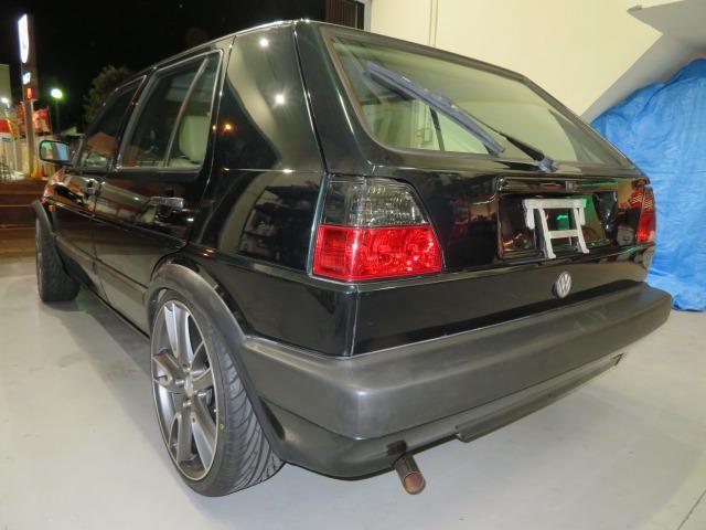 「【格安】1991年 フォルクスワーゲン(VW)ゴルフ2/GOLFⅡ/1800cc/新品18インチホイール(MK)/新品タイヤ(215/35R18)/144,971km」の画像3
