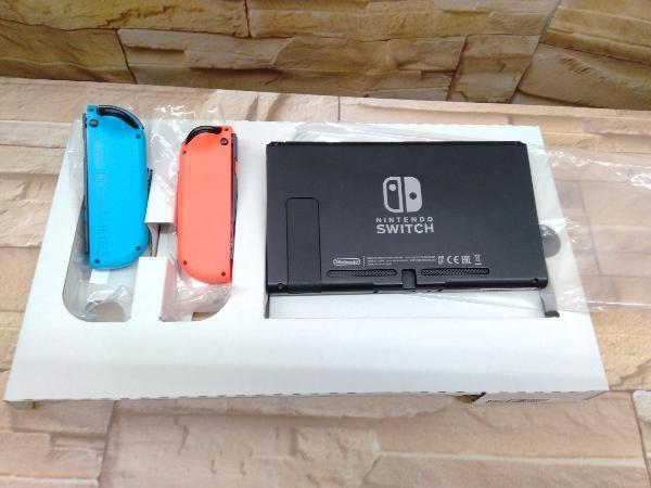 動作確認済 Nintendo Switch Joy-Con(L) ネオンブルー/(R) ネオンレッド(HADSKABAA)(バッテリー拡張モデル)_画像6