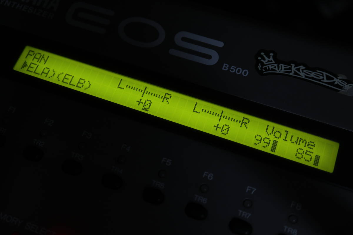 YAMAHA EOS B500_画像5
