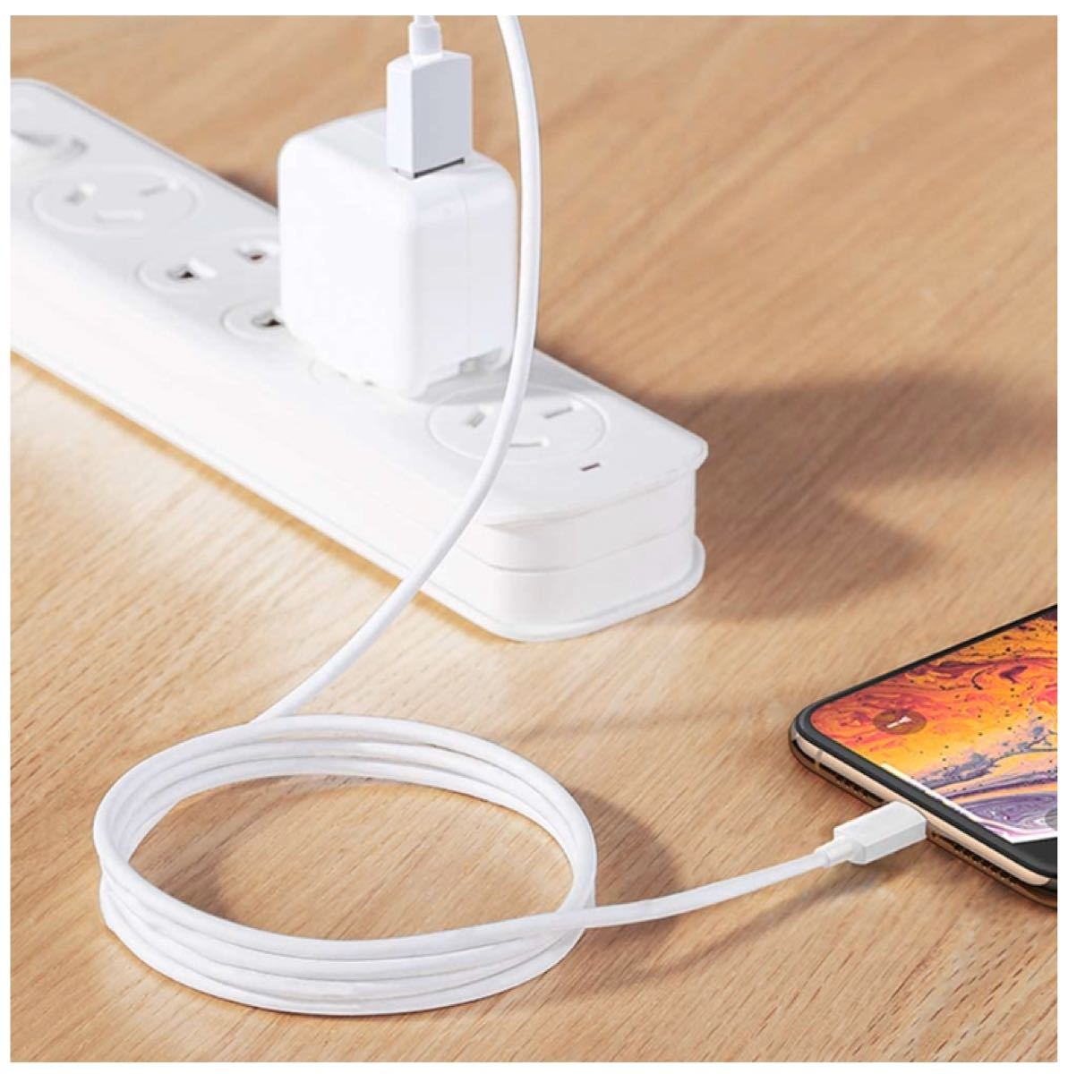 iPhone充電ケーブル(急速充電 ライトニングケーブル)