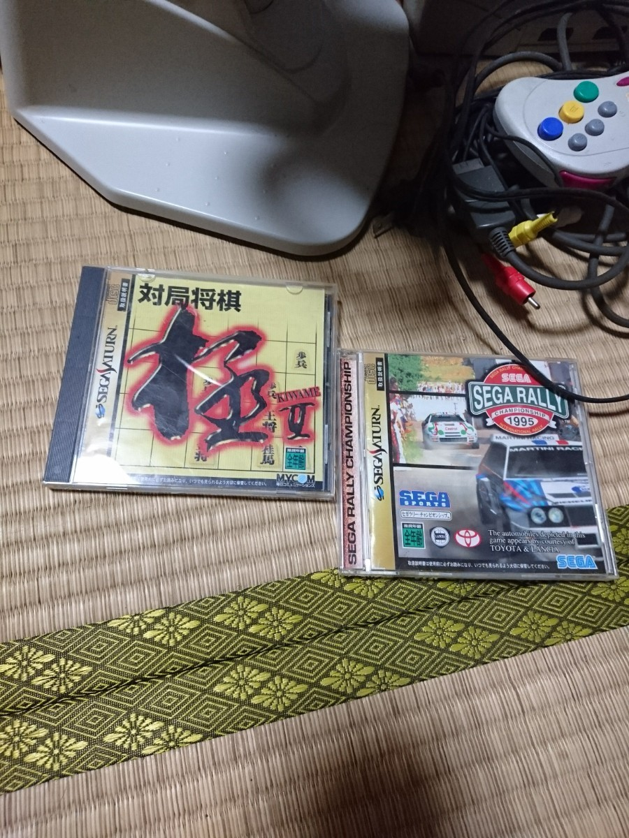 セガ・サターンと将棋CD ラリーコントローラー、セガ・ラリーCD