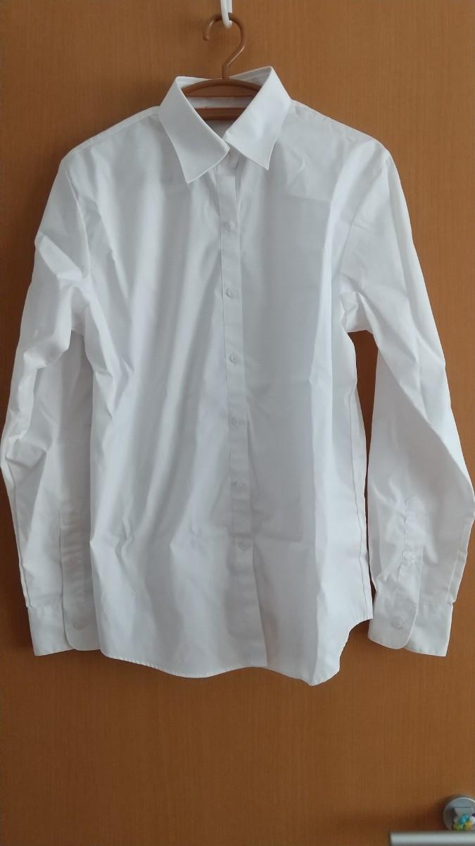 白ブラウス 長袖 13号