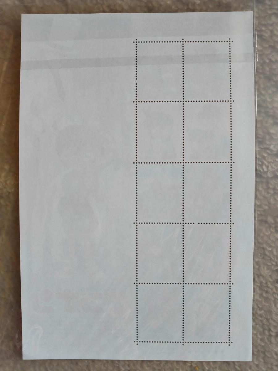 切手シート 名探偵コナン 未使用 アニメ ヒーロー ヒロイン 第4集