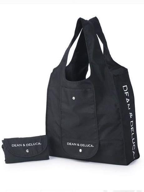 DEAN&DELUCA ショッピングバッグ エコバッグ ブラック 黒