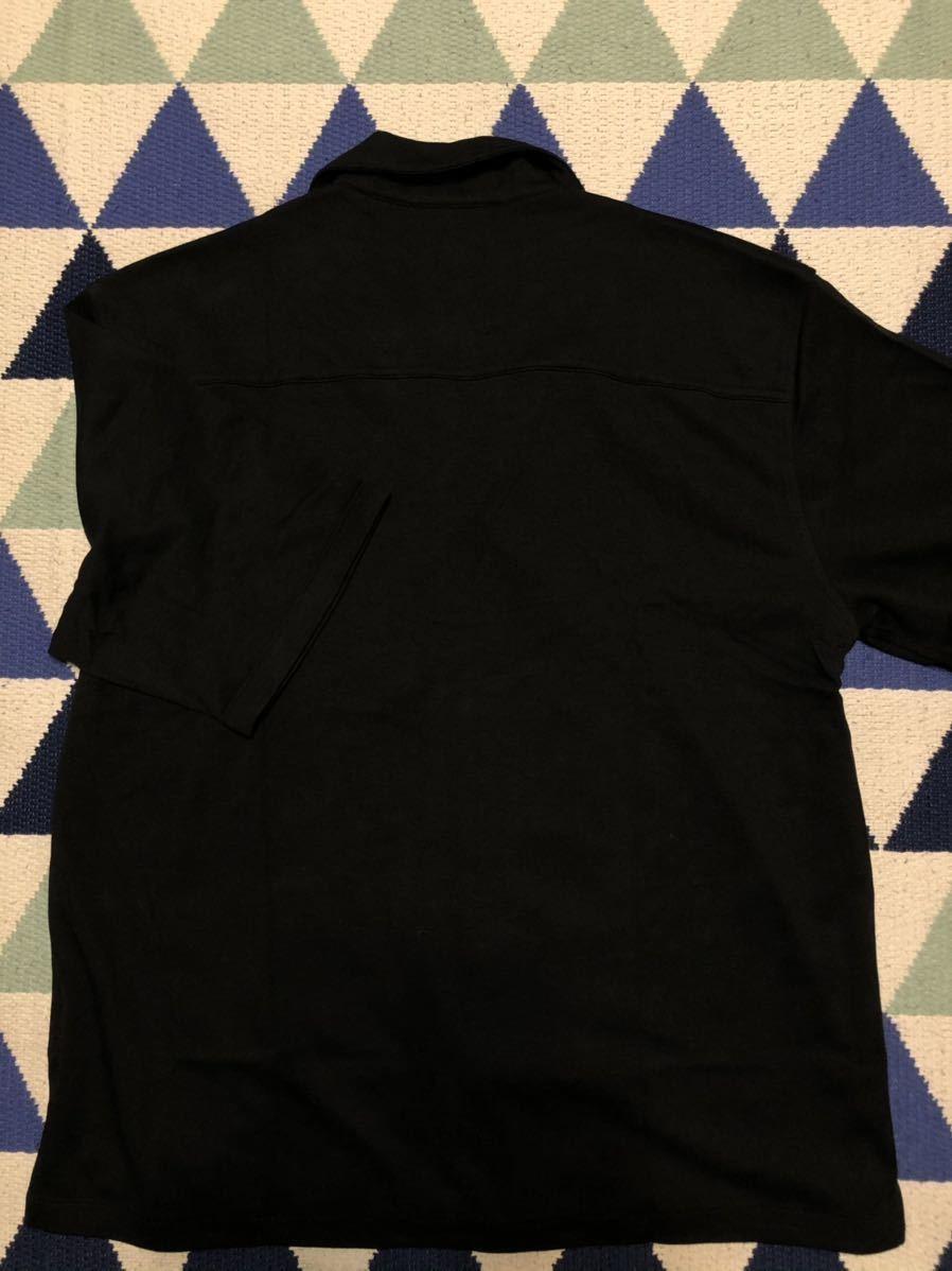 ナノ・ユニバース  nano UNIVERSE オープンカラーシャツ 半袖シャツ