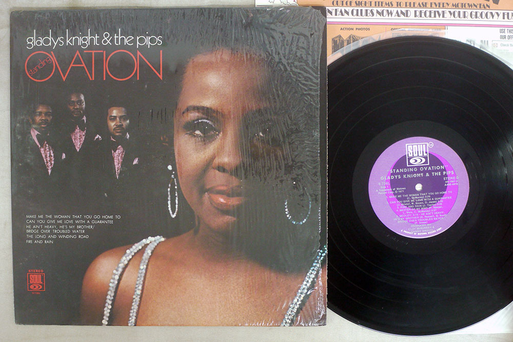 US ORIGINAL GLADYS NIGHT &THE PIPS/STANDING OVATION/SOUL S736L